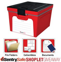 Shoplet.com is giving away a Sentry Safe guardian storage box. Here's how to win: Follow Shoplet on Pinterest, repin this post, go to the Shoplet Blog before 3/18/13 and tell us what you would store in your box. #giveaways