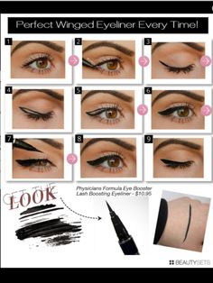 How to do eyeliner.