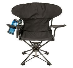 Swiveling Portable Chair makes you feel right at home