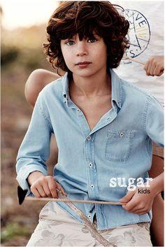 Aleix de Sugar Kids para Massimo Dutti