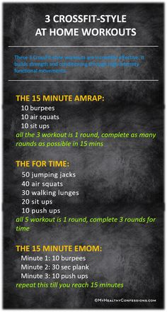 WORKOUTS: AMRAP, FOR TIME AND EMOM I am part of Crossfit since last couple of months. So I can totally brag about how incredibly effective it is. It is the hardest and best damn workout ever do. A crazy person like Fitness Workouts, Amrap Workout, Fitness Humor, Cardio Workouts, Circuit Training Workouts, Fitness Men, Outdoor Workouts, High Intensity Training Workouts, Body Weight Workouts