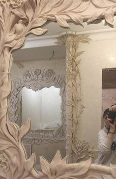 Лепной декор для ванной комнаты (Jesmonite). Частный заказчик.
