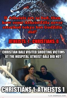 Christians Vs Atheists