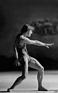 Mikhail Baryshnikov, showing us how it's done.