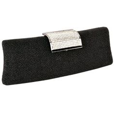 MG Collection Black Rhinestone Clasp Hard Case Baguette Clutch Evening Bag MG Collection http://www.amazon.com/dp/B008RD1EV6/ref=cm_sw_r_pi_dp_nZ2Vtb11XDHYZGNK