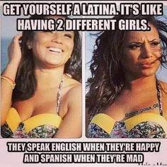 be Latina like girlfriends