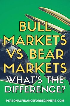 Bull markets are defined by upward, optimistic trends. Bear markets are defined by downward, skeptical trends. Let's take a look at how these market types can affect your personal situation and financial behavior. Money Tips, Money Saving Tips, Bull Riders, Investing Money, Budgeting Tips, Pennies, Financial Planning, Stock Market, Personal Finance
