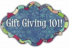 gift giving 101 on the keepers ministry website.  12 gifts to make for the special people in your life.  starts oct 13!