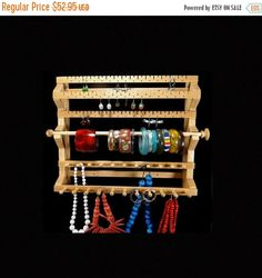 Hanging Earring and Necklace Holder Jewelry Storage Jewelry