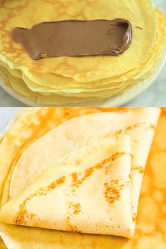 Simple and foolproof recipe for Sweet Crepes. I ve made these hundreds of times and they are family s favorite. Cooktoria for more deliciousness! Healthy Breakfast Recipes, Brunch Recipes, Sweet Recipes, Dessert Recipes, Gourmet Breakfast, Mexican Breakfast, Breakfast Ideas, Healthy Recipes, Crapes Recipe