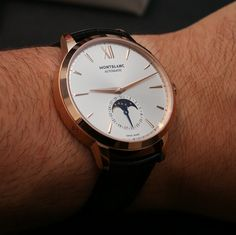 7b5bdd40e Montblanc Meisterstück Heritage Moonphase Watch Hands-On - by Ariel Adams -  Read more and