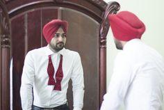 Men's Fashion Tux Bow Tie Urban Sardar Sikh Fashion Surjit Singh. Visit: theurbansardar.com
