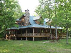 log home, GA