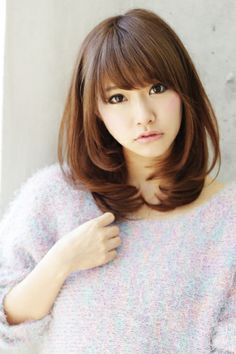 (notitle) Sure, the bushy perms of the might be out of vogue, but there are abundance (generic t Medium Long Hair, Medium Hair Cuts, Long Hair Cuts, Wavy Hair, Medium Hair Styles, Long Hair Styles, Japanese Haircut, Japanese Hairstyle, Kawaii Hairstyles