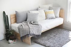 DIY Plywood Daybed | The Merrythought | Bloglovin