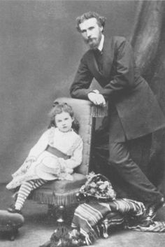 Gertrude and her father, Sir Hugh Bell