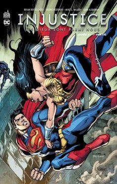 INJUSTICE tome 7 (17.02.2017) // Les membres du groupe d'insurgés mené par Batman contre Superman entament leur quatrième année de résistance. Une rébellion à laquelle se rallient Zeus et son armée d'Amazones. Prise entre deux feux, Wonder Woman choisira-t-elle de s'opposer aux siens ? Comment le Chevalier Noir parviendra-t-il a tirer profit de cette intrusion divine ? Contient : Injustice Gods Among Us Year Four Vol.1 (Injustice Gods Among Us Year Four #1-7) #injustice #urban #comics