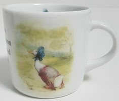 Beatrix Potter Wedgwood Children's Mug Cup with Peter Rabbit Jemima Puddle Duck | eBay Childrens Mugs, Tim Hortons, Peter Rabbit, Beatrix Potter, Vintage Quilts, Wedgwood, Mug Cup, Baby Quilts, My Ebay