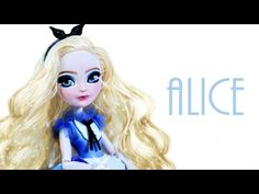 How to make Kitty Cheshire's Bed [EVER AFTER HIGH] - YouTube