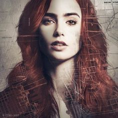 Mortal Instruments Clary Fray I think I'll go as her for Halloween because I have a leather jacket and red hair, I'm good.