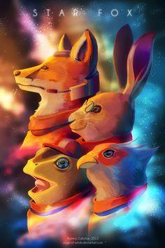Star Fox by Kristina Callahan