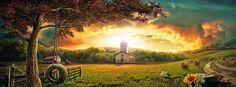 Country Autumn Facebook Cover