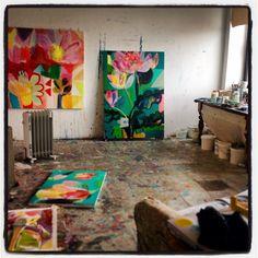 "37 Likes, 3 Comments - Becky Blair (@beebeeblair) on Instagram: ""Studio 2015"""