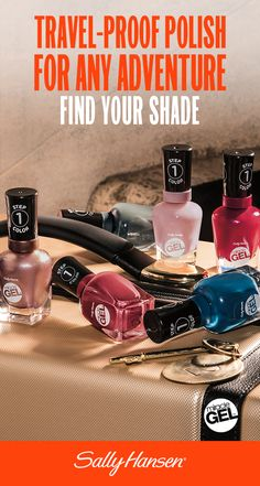 Get a manicure that's as game as you are. Miracle Gel™ now comes in 14 new vibrant shades – perfect for all adventures. Take on the world with a longer lasting manicure from Sally Hansen.