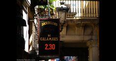 En la Plaza Mayor de Madrid hay bocadillos de calamares para todos los bolsillos y para todos los gustos (flickr | antoniotajuelo - imagen con licencia CC BY 2.0).