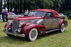 1939 Cadillac Series 39-90 V16 convertible coupe