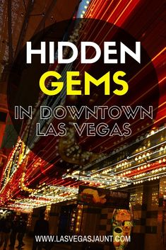 Las Vegas is so much more than just the strip. Discover a side of Vegas you never knew existed when you check out these 5 Downtown Las Vegas destinations. Las Vegas Tips, Las Vegas Food, Las Vegas Vacation, Visit Las Vegas, Vacation Ideas, Las Vegas Deals, Las Vegas Shows, Vacation Spots, Vegas Activities