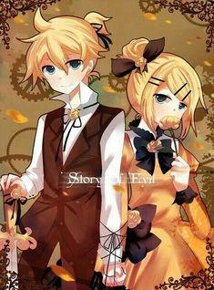 Kagamine Rin & Len ♡♡ Story of Evil