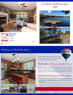 Our Newest listing in Ayer MA. When you hire us, you'll get this beautiful 11 x 17 two sided, color, folded house brochure to market your home.