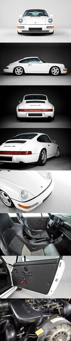 1991 Porsche 911 Carrera RS / Germany / 964 / white