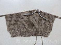 Patroon om een babyvestje te breien | Breimeisje.nl Free Knitting, Knitting Patterns, Kids Beanies, Sheep Farm, Sweater Scarf, Yarn Store, How To Start Knitting, Stitch Markers, Baby Patterns
