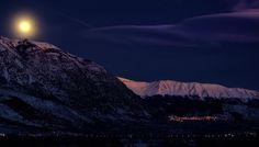 Moonrise on Pacentro