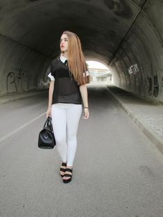 Own trend: black and white haven