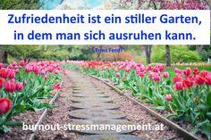 Je öfters im Garten desto weniger Stress!
