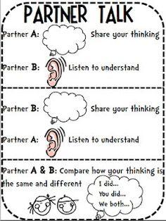 Talk partners clipart