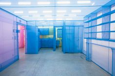 do ho suh finalizes fabric new york apartment series in color - designboom | architecture