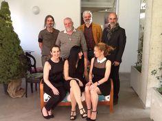 Elisa Di Olioera con Serenella, Anna di TwinFood e lo staff Castèstyle al fuorisLone