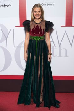 Gwyneth Paltrow in Gucci at Elle Spain Party
