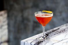 Originally invented by Sam Ross (creatorof the Penicillin cocktail), the Paper Plane cocktail is a bitter butterfly rooted in amaro and whiskey. | Photo courtesy of Rebelle, NYC.