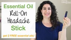 Homemade Essential Oil Roll On Headache Stick ~~~How to claim your 2 FREE essential oils (peppermint & tea tree Click this link to purchase the Weston Price, Green Cleaning Recipes, Kombucha Scoby, Peppermint Tea, Healthy Eating Recipes, Vegetarian Recipes, Kefir, Coconut Flour, Essential Oils