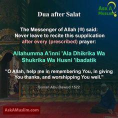Dua prayer after salat. Islamic Prayer, Islamic Teachings, Islamic Dua, Prayer Verses, Quran Verses, Quran Sayings, Doa Islam, Allah Islam, Religious Quotes