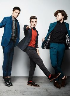 Tom Parker, Nathan Sykes and Jay McGuiness - Glamour Magazine |via fb