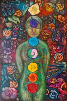 Daydream Believer: Failing with class! Chakra Art, Chakra Healing, Body Is A Temple, Glamour, 7 Chakras, Rainbow Art, Yoga, Unusual Gifts, Sacred Geometry