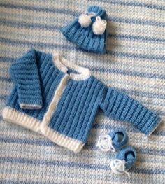 crochet-baby-dress-set