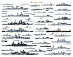Kriegsmarine Warships WWII
