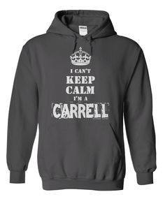For This Hoodie visit https://sites.google.com/site/shirtsunfrog/im-a-carrell-hoodie